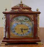 Musical Fuzee Bracket Clock, London, Circa 1750